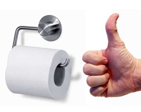 Man, toilet paper is so cool...